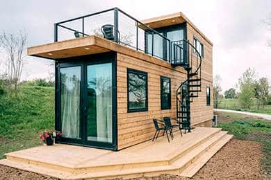 2 Storey Container Home