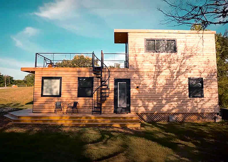 2 Story container Home 7