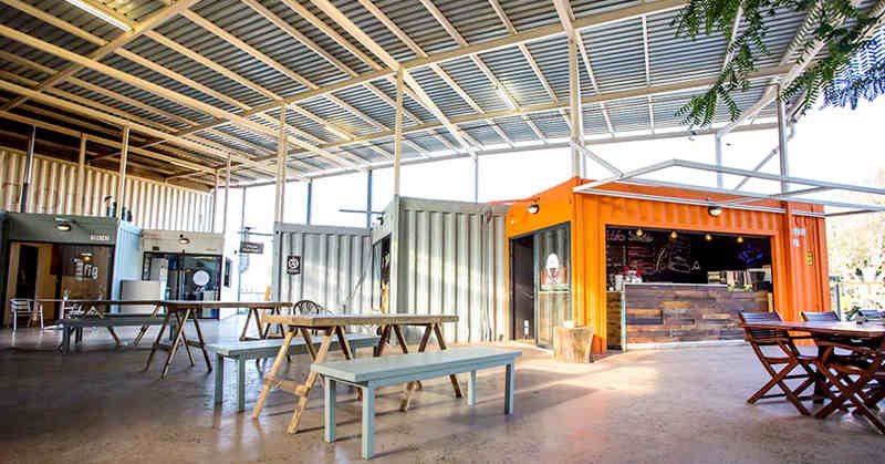 shipping container shop in South Africa