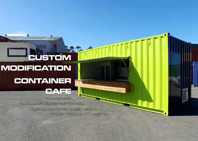 20FT Sea Container Cafe