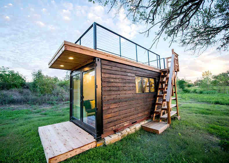 Portable Cabin With Rooftop Deck11