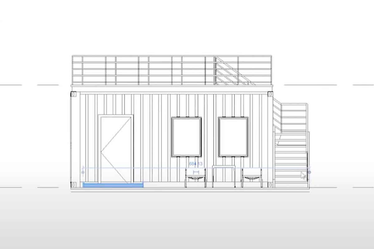 Portable Cabin With Rooftop Deck13