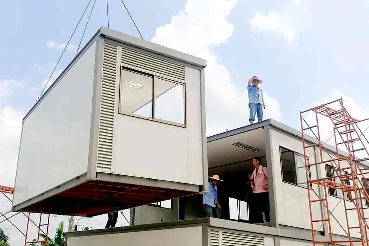 Prefabricated Container House10
