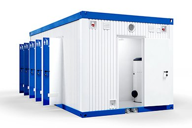 Shipping Container Shower Blocks