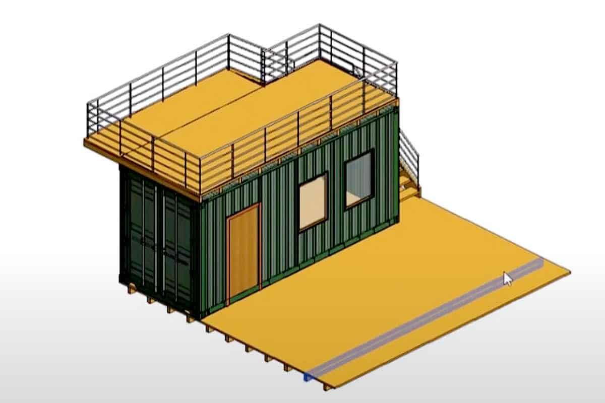 Wroof Top Tiny House