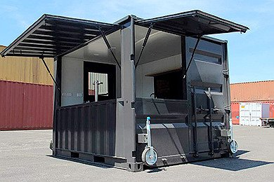 coffee container kiosk
