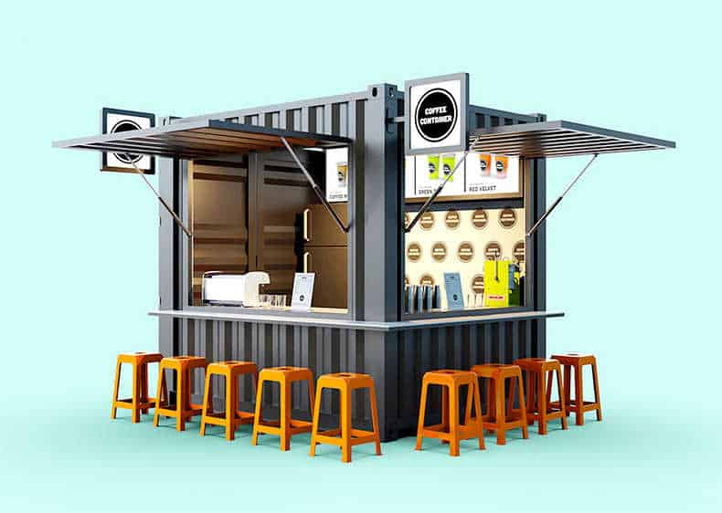 coffee container kiosk10