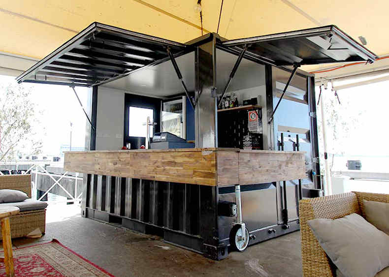 coffee container kiosk12