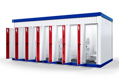 container WC