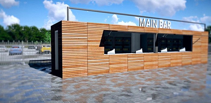 shipping container restaurants